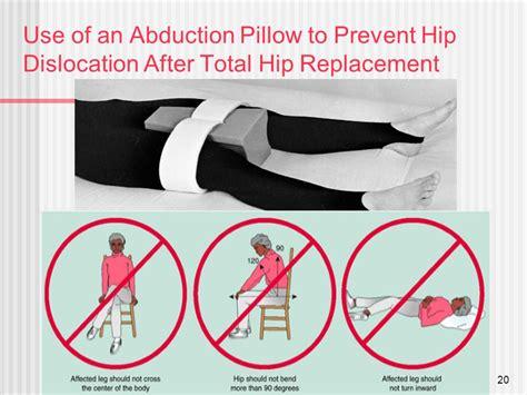 hip abduction pillow after hip surgery hip ache three months after hip alternative the hip flexor