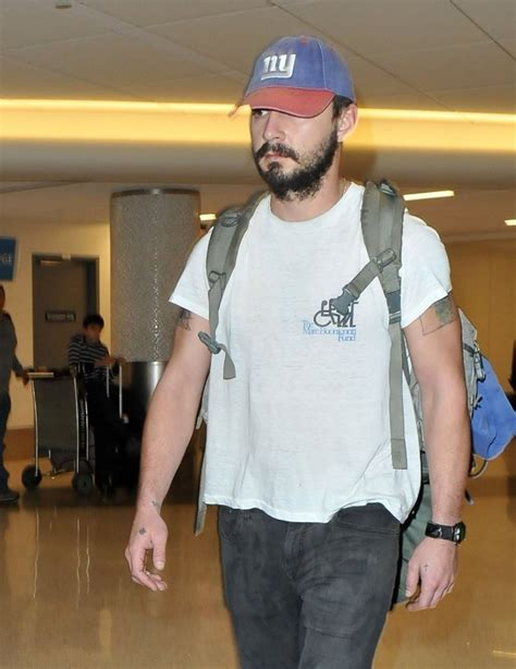 Lands In Los Angeles by Shia Labeouf Lands In Los Angeles Zimbio