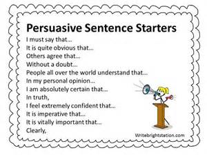 Argumentative Essay Sentence Starters by 17 Best Images About 4th Grade On