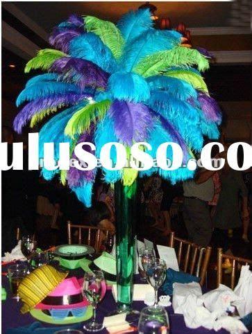 peacock wedding centerpieces centerpieces weddings for