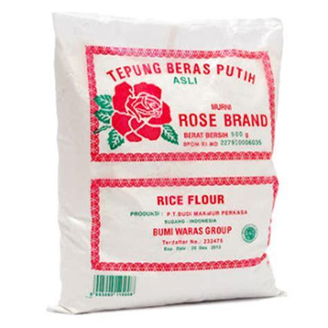 Brand Tepung Ketan Putih 500g jaya abadi tepung brand