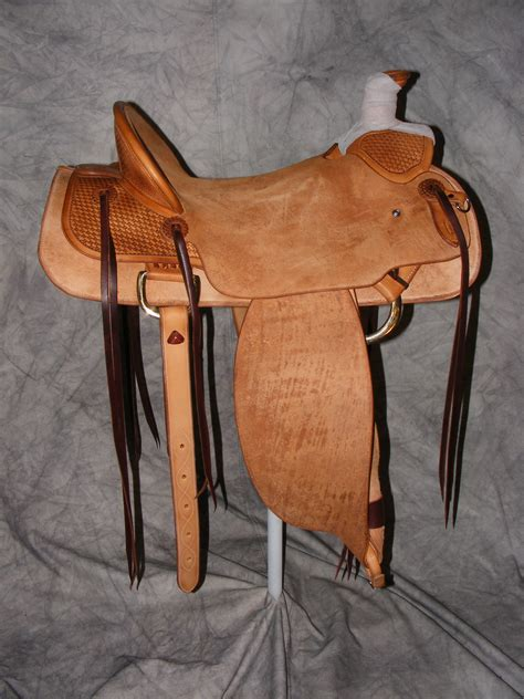 Handmade Saddle - quality custom made saddles cliff wade modified