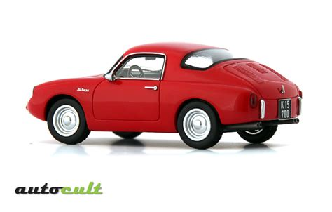 misc 143 diecast and resin models 1961 intermeccanica imp in red in 1 43 scale by autocult