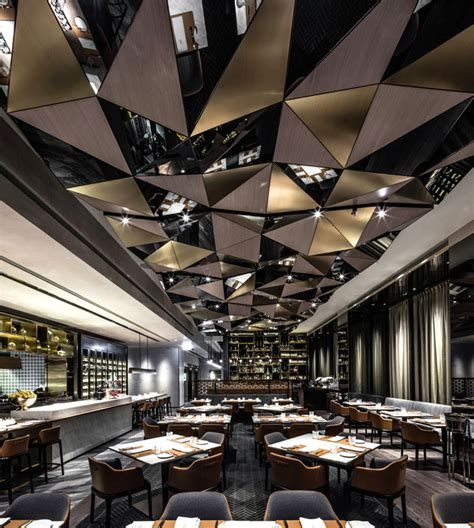 luxury hong kong interiors by eclectic hong kong restaurant by kokaistudios