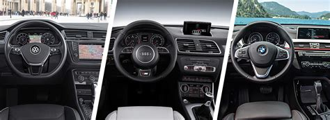 Audi Q3 Oder Q5 by Vw Tiguan Vs Audi Q3 Vs Bmw X1 Comparison Carwow