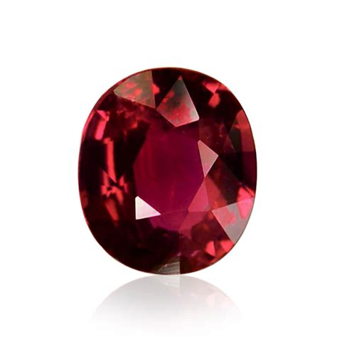 1 48 carat mozambique ruby oval shape no evidence