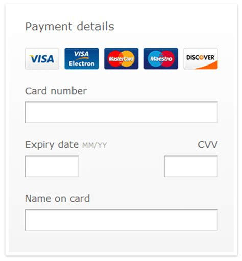 Credit Card Number Format Validation Javascript 15 Useful Jquery Validation Plugins Jquery By Exle