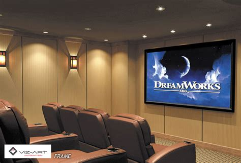 screen frame is the best for home theater viz