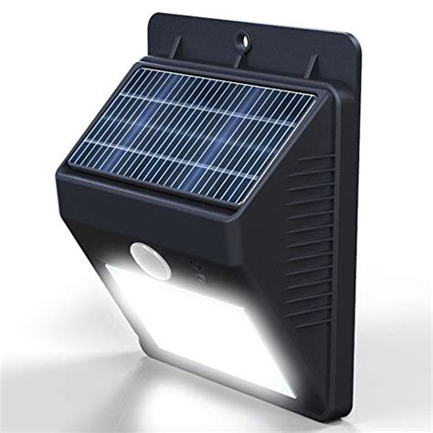 solar outside security lights vont outdoor waterproof solar motion led light security