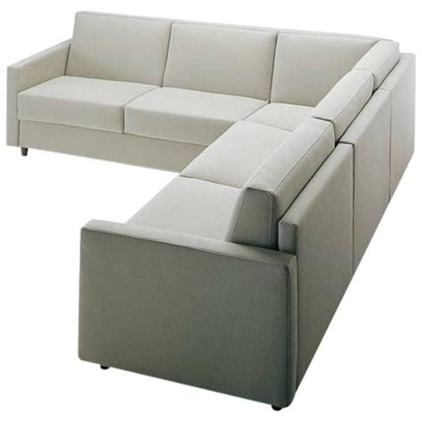 Modern Sectional Sofa Bed With Storage Ottoman Made In Fabric Ottomans For Sale
