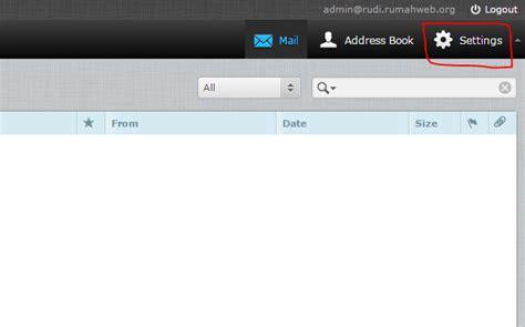 cara membuat email roundcube membuat signature gambar di webmail roundcube rumahweb s
