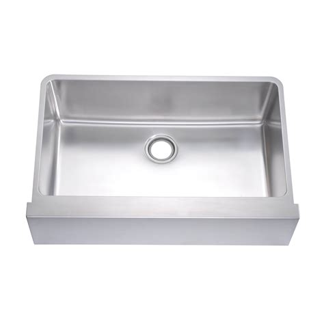 Front Apron Kitchen Sinks Daf3320 Undermount Flat Front Apron Kitchen Sink Atg Stores