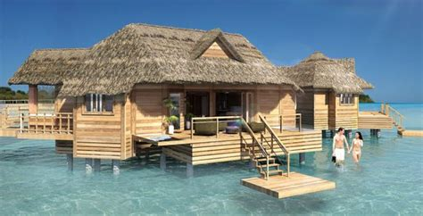 sandals south coast opens booking on overwater bungalows overwater villas in the caribbean