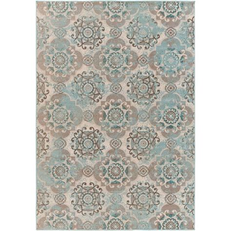 11 x 11 area rug artistic weavers didus teal 7 ft 11 in x 11 ft indoor area rug s00151021713 the home depot