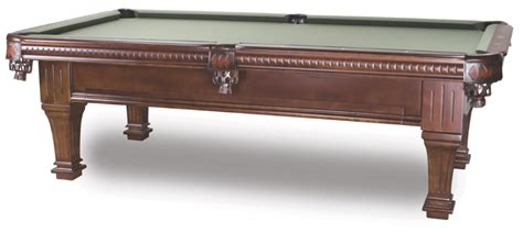 8 imperial ramsey antique walnut pool table