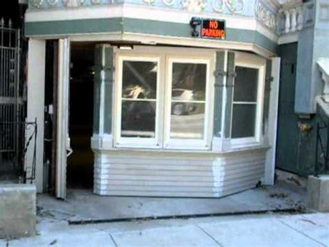 facade secret room classic facade hides parking garage in haight ashbury san francisco