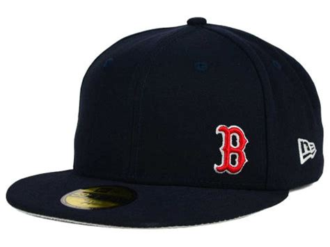 mlb logo on hat 59 fifty by new era presents the small logo hat