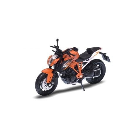 Ktm Diecast Models Ktm 1290 Duke R Orange 1 18 Welly Wel 12837