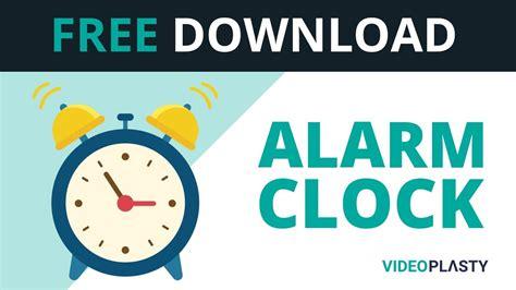 free alarm clock animation mov gif