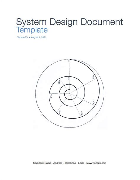 system design document template system design document apply iwork