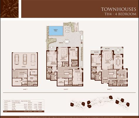 Townhouse Floor Plans by Bedroom Townhouse Plans Home Furniture Design