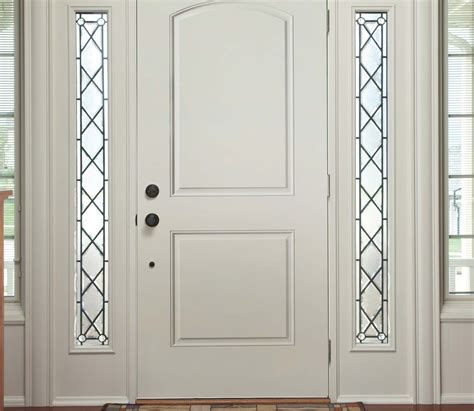2 Panel Exterior Door Pella 2 Panel Arch Entry Door Solid Panel Pella