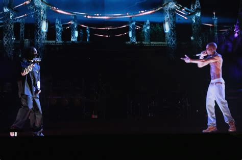 tupac at coachella rapper comes alive via hologram to tupac shows up at coachella the resurrection john