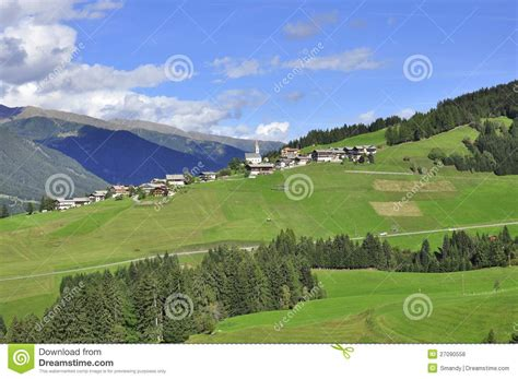 Small Traditional House Design In Tirol Austria typical austrian village in tirol landscape royalty free