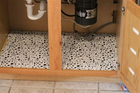 kitchen sink cabinet liner beautifull under kitchen sink cabinet liner greenvirals