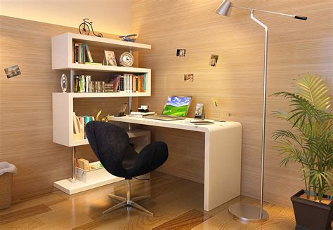 free office furniture nyc kd02 modern office desk with shelving in white 563 11