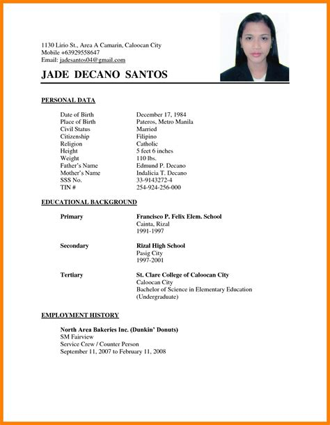Marriage Biodata Doc Word Format Resume by Awesome Matrimonial Resume Sle With Additional Sle
