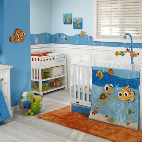 Finding Nemo Crib Bedding by Finding Nemo Premier 4 Crib Bedding Set Disney Baby