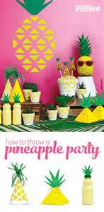 summer themes for adults how to throw a pineapple party birthdays summer and