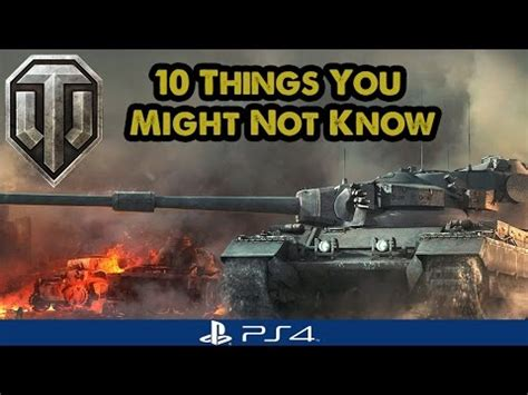 Minecraft Ps4 10 Things You Might Not Know 1 Tutorial - 10 things you might not know world of tanks ps4 youtube