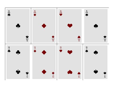 Deck Of Cards Template Indesign by Blank Card Template One Day Blank