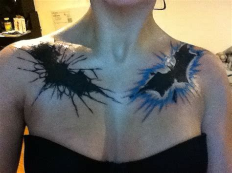 batman tattoo on chest batman tattoos by neverendingdeath666 on deviantart