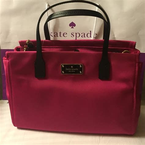 Nwt Kate Spade Small Loden Ave Stripe 17 kate spade handbags kate spade small loden ave sweetheart pink from judy s