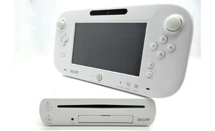 wii u white console nintendo wii u 8gb console white buy electronic
