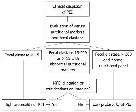 Stool Tests For Diarrhea by Diagnosis And Treatment Of Pancreatic Exocrine Insufficiency
