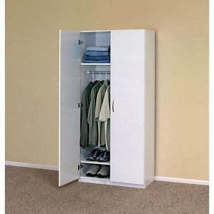 White Storage Closet Wardrobe White Wardrobe Cabinet Clothing Closet Storage Modern