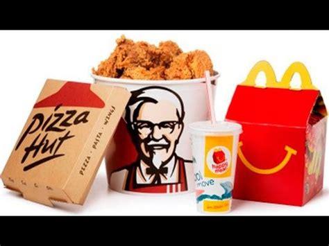 top diez cadenas comida rapida 8 grandes cadenas de comida rapida en el mundo youtube