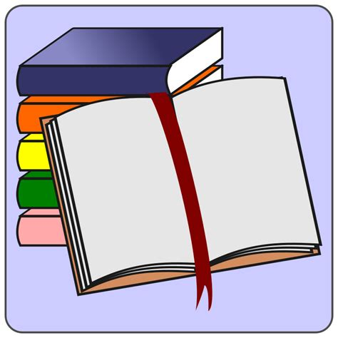 clipart libro books free stock photo illustration of books 14304