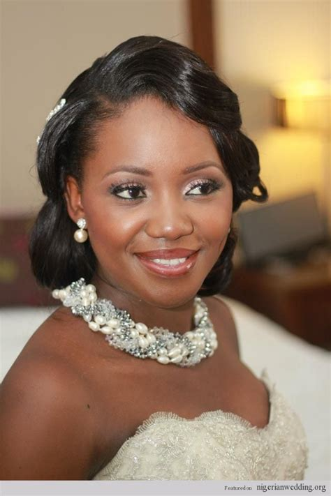 nigerian bridal hair videos white black and gold wedding make up gorgeous nigerian