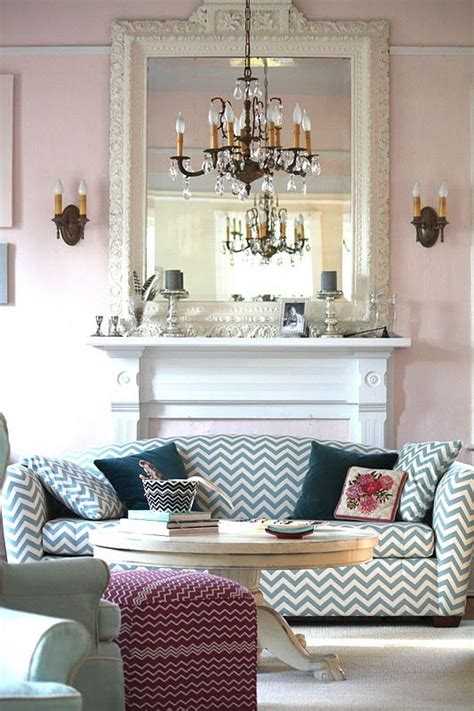 Chevron Living Room by How To Decorate With Chevron Pattern Adorable Home
