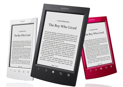 Sony S New Ereader Faces Uphill Battle Gadget Lab