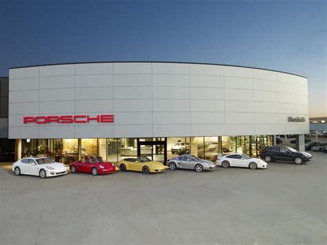 porsche showroom porsche beats 2011 sales record