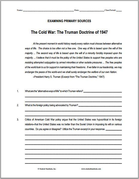 Doctrine Document 25 best ideas about truman doctrine on cold