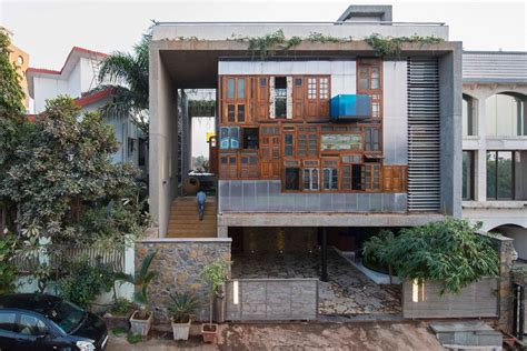 fashion design houses in mumbai a house full of recycled materials design milk