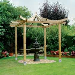 Pagoda Pergola by Grange Japanese Pergola 3 Anchoring Options Fsc Approved