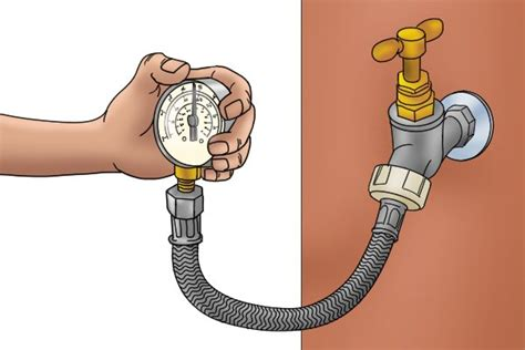 loss of water pressure in house with well what is a water pressure gauge used for